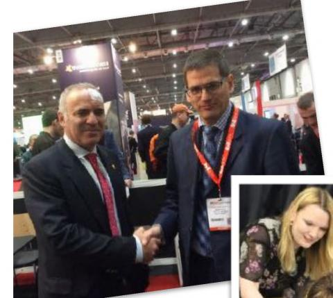 Mike Forster meets Kasparov