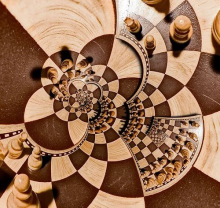 Infintie chess picture